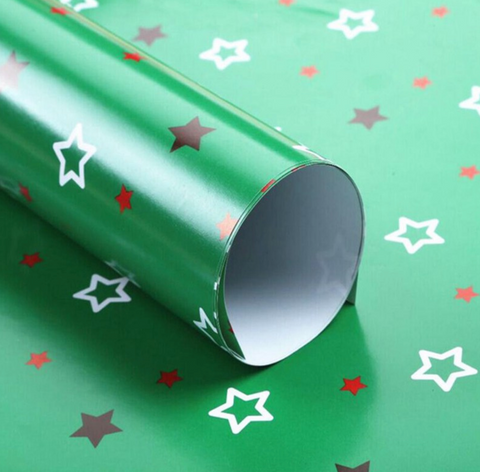 Baby Gift Green Wrapping Paper