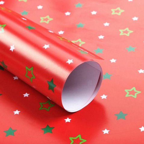 Baby Gift Red Wrapping Paper