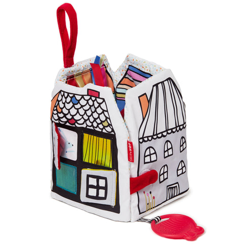 Skip Hop HK Sale Vibrant Village Peek & Play Soft Book