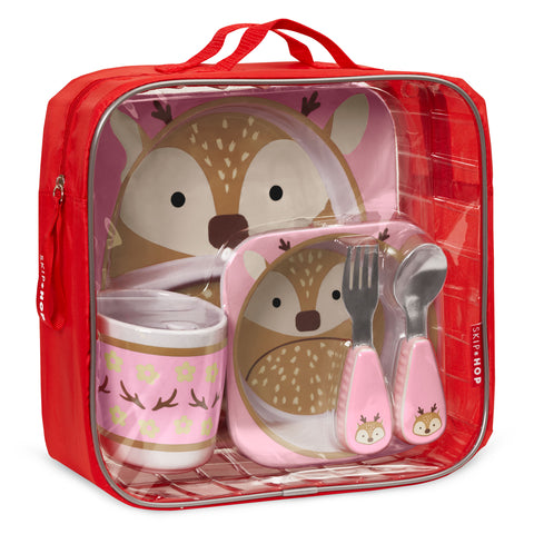 Skip Hop HK Sale Zoo Winter Mealtime Set Deer Package