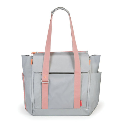 Skip Hop HK Sale: FIT All access Diaper Tote Bag Platinum BabyPark HK