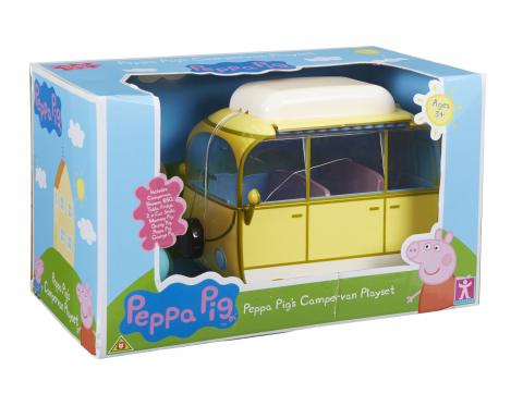 Peppa Pig HK Sale Campervan Playset Box