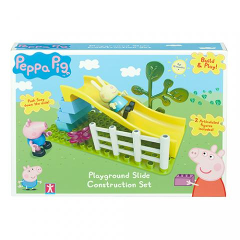 Peppa Pig HK Sale Construction Slide Playground Box