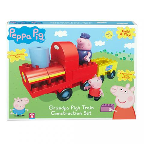 Peppa Pig HK Sale Construction Grandpa Pig's Train Box