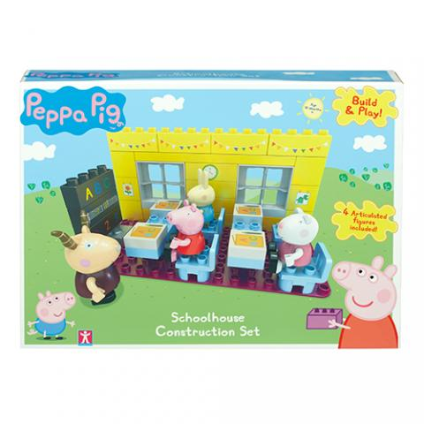 Peppa Pig HK Sale Construction School House Set Box