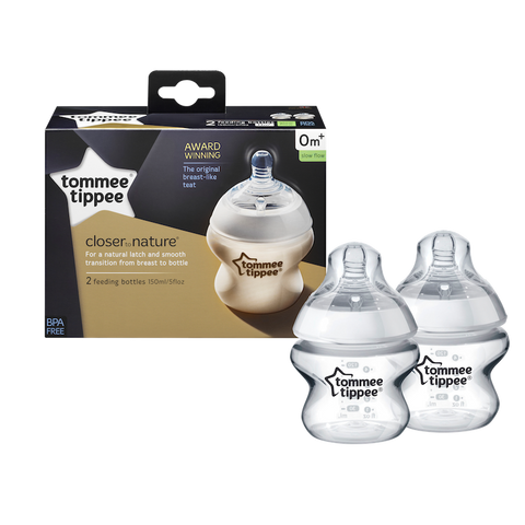Tommee Tippee HK Sale CTN PP Bottle 150ml Twin Pk