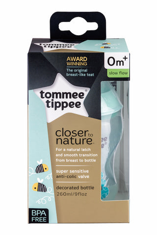 Tommee Tippee HK PP Tinted Deco Bottle 260 ml Girl