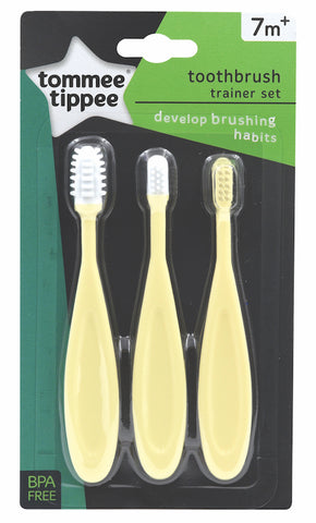 Tommee Tippee HK Sale Toothbrush Trainer Set