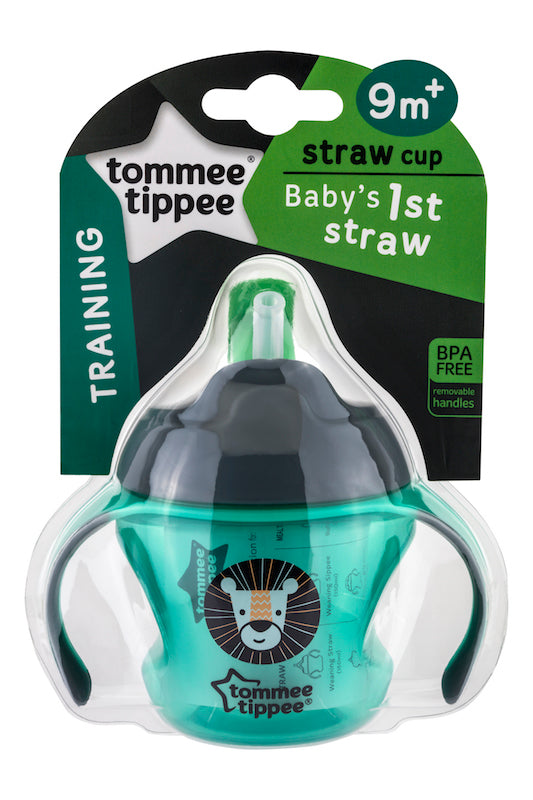 Tommee Tippee HK Sale First Straw Cup 150 ml Green