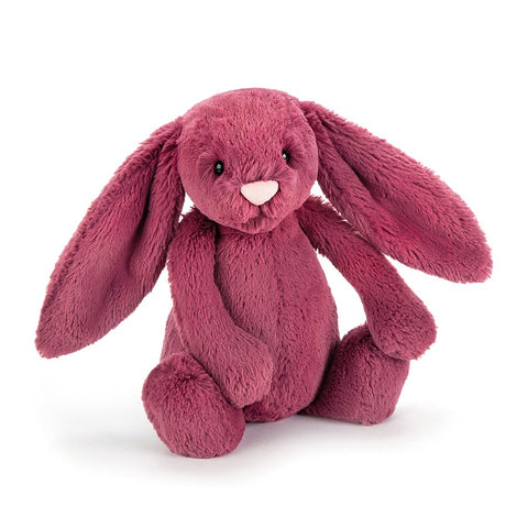 Jellycat HK Sale Bashful Berry Bunny Medium Front