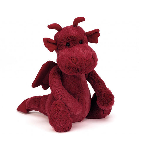 Jellycat Dragon Medium HK Sale Bashful 26cm Collection