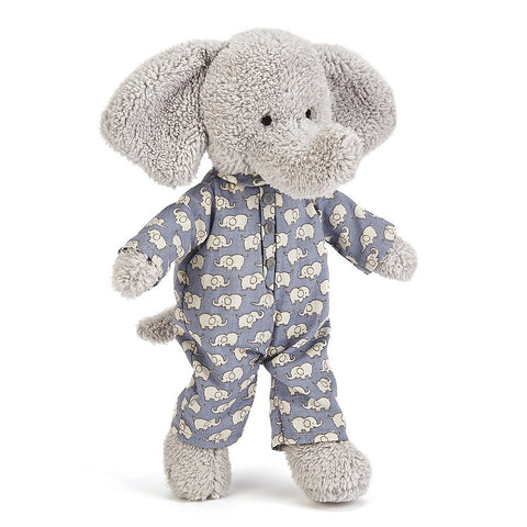 Jellycat Bedtime Elephant HK Sale 23cm Plush Toy