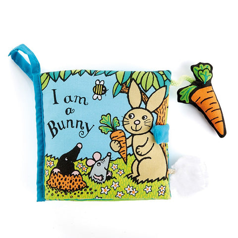 Jellycat I Am A Bunny Book
