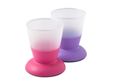 BabyBjorn HK Sale Cup 2-pack Purple & Pink