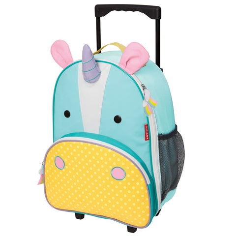 Skip Hop Zoo Kid Rolling Luggage - Unicorn
