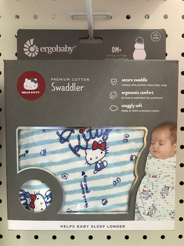 Ergobaby HK Sale Swaddler Hello Kitty - Sail Away