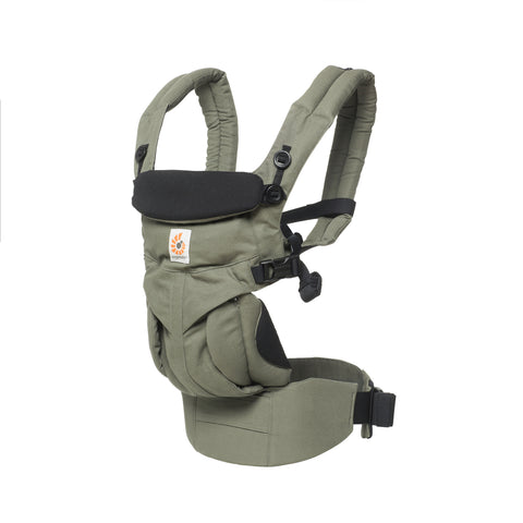 Ergobaby HK Omni 360 All-In-One Carrier Khaki Green Front right