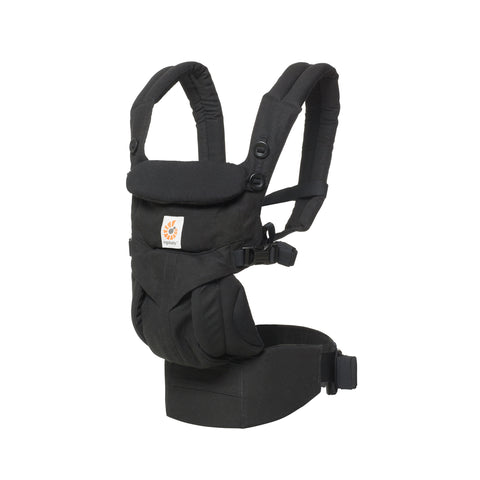 Ergobaby HK Omni 360 All-In-One Carrier Pure Black Front Right