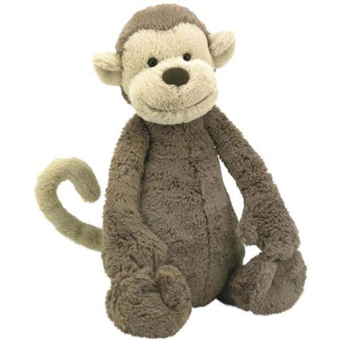 Jellycat Monkey Huge HK Bashful Plush Toy at 51cm