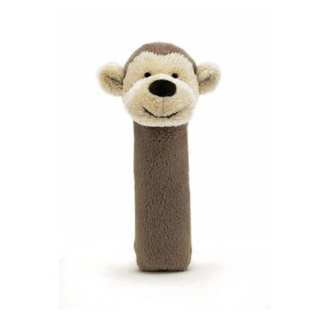 Jellycat Monkey Squeaker HK Sale - Toy in Bashful Series
