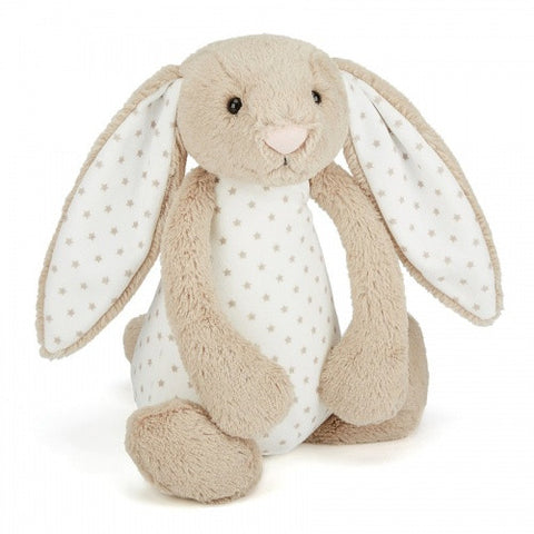 Jellycat Starry Medium HK Bashful Bunny 31cm