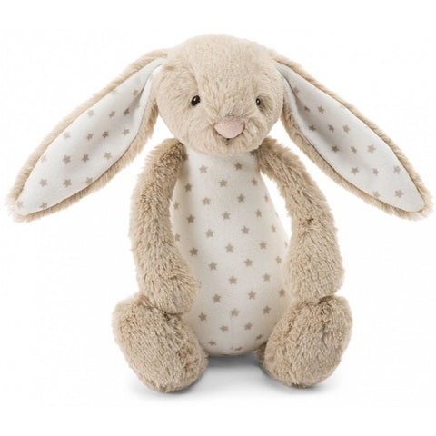 Jellycat Starry HK Bunny Rattle Small