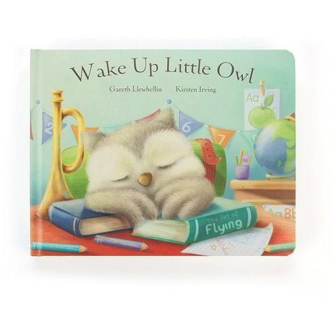 Jellycat Owl Book HK Wake Up Little Owl