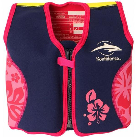 Konfidence Jacket Navy/Pink 4 to 5 years