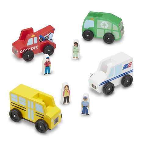 Melissa & Doug HK Sale Community Vehicle Set