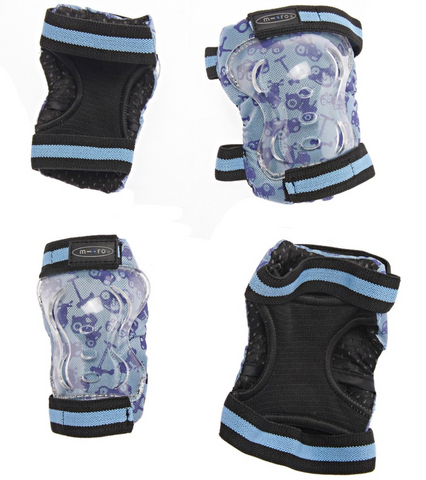 Micro Scooter HK Sale Blue Elbow & Knee Pads Size M