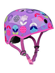 Micro Scooter HK Sale Floral Dot Helmet Size S