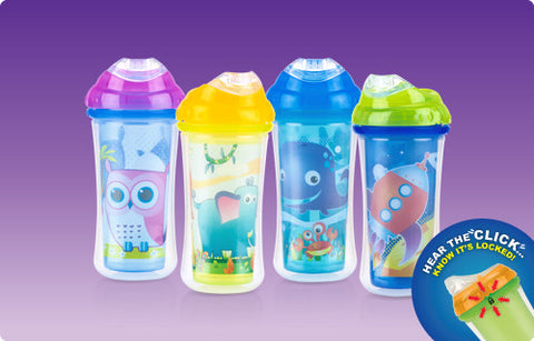 Nuby HK No-spill Insulated Clik-IT Sipper Cup 270ml