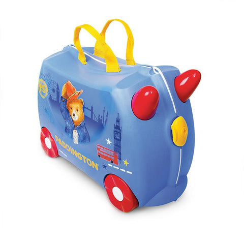 Trunki HK Luggage Paddington Bear Front