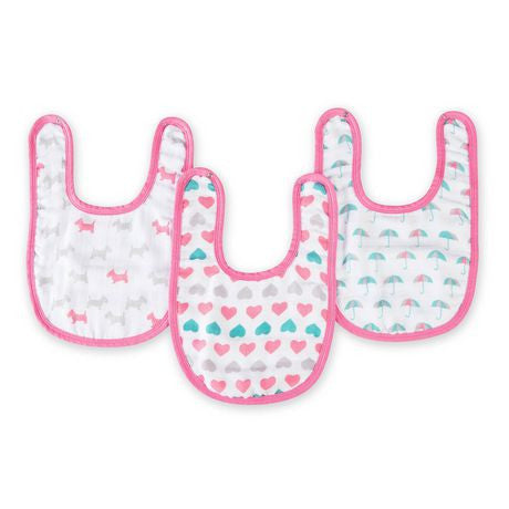 Aden+Anais Ideal baby pretty sweet little bibs - BabyPark HK