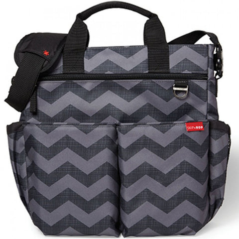 Skip Hop HK Sale Duo Signature Diaper Bag Tonal Chevron