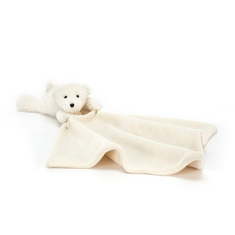 Jellycat HK Sooshu Polar Bear Soother