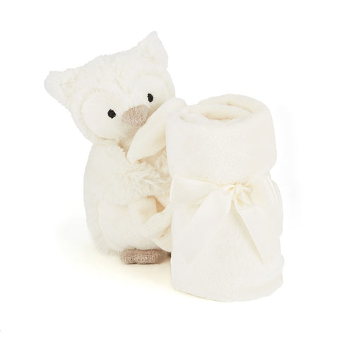 Jellycat Owl Soother HK Snowy 34cm
