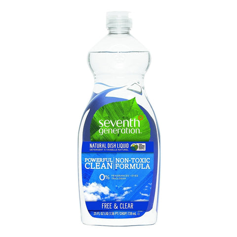 Seventh Generation Dish Liquid - Free & Clear