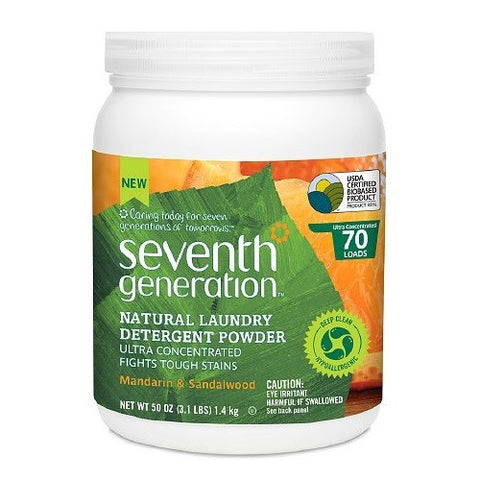 Seventh Generation Powder Laundry Mandarin & Sandalwood