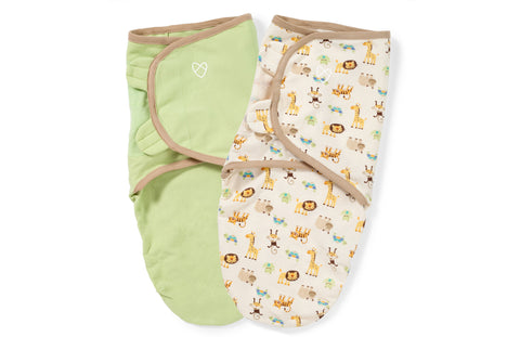 Summer Infant organic cotton zoo SwaddleMe Babypark HK - BabyPark HK