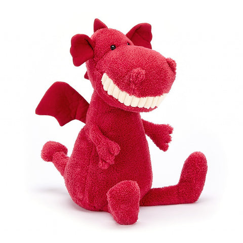 Jellycat Toothy Dragon HK Sale Large 36cm Tall