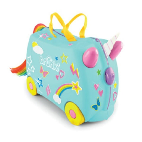 Trunki UNA HK Unicorn Kids Suitcase