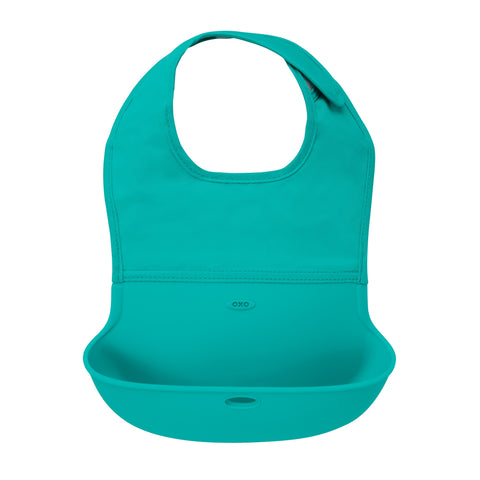 Oxo HK Sale Roll up Bib Teal