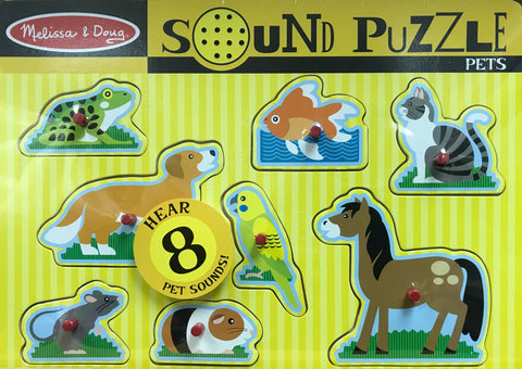 Melissa & Doug HK Sale Pet Sound Puzzle