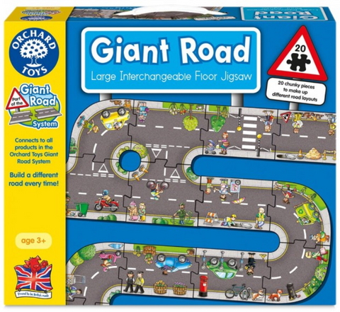 Orchard Toys HK Sale Giant FP 20P Road Jigsaw