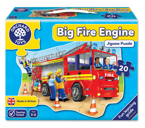 Orchard Toys HK Sale FP 20P Big Fire Engine