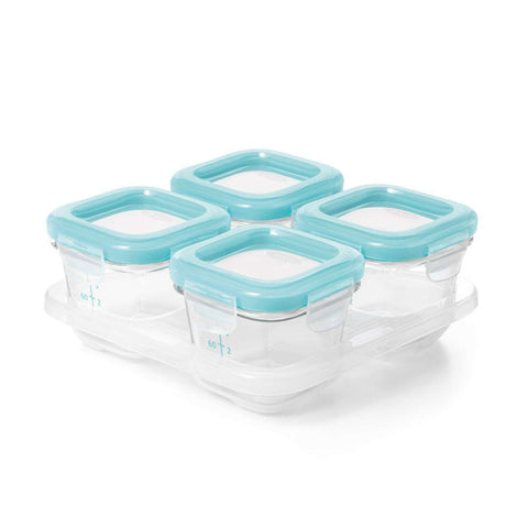 Oxo HK Sale Tot GLASS BABY BLOCKS - 4OZ - BabyPark HK