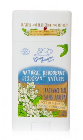 Green Beaver Deodorant Stick - Unscented 50g