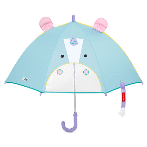 Skip Hop Zoobrella Little Kid Umbrella - Unicorn