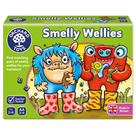 Orchard Toys HK Sale Smelly Wellies